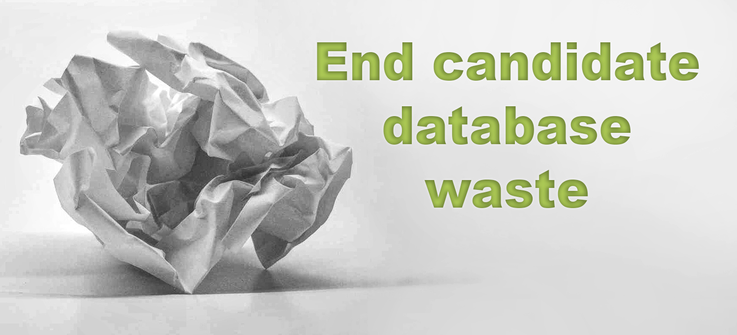 Crumpled paper End Waste