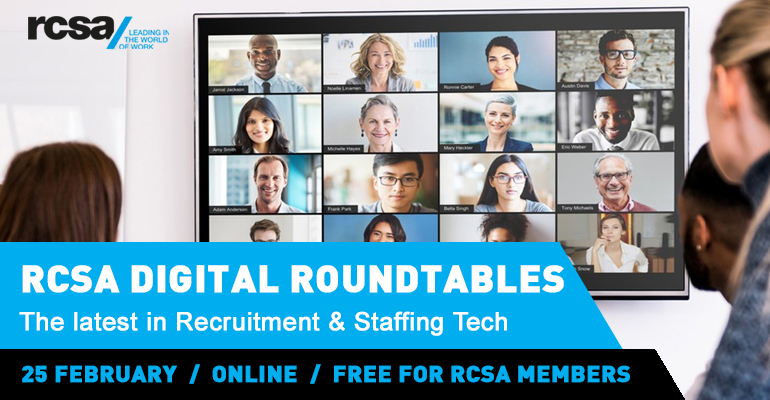 RCSA Digital Roundtable 25th February 2021