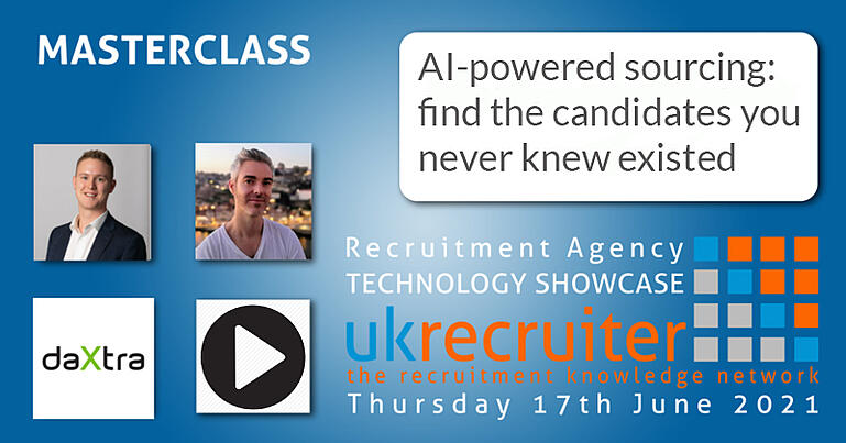 Event image for DaXtra's first session at the UK Recruiter Technology Showcase