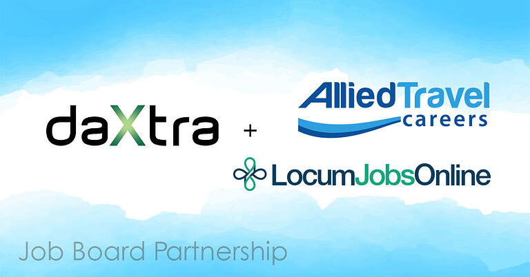 Daxtra partners with job boards allied Travel Careers and Locum Jobs Online
