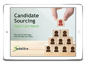 DaXtra Candidate Sourcing eBook cover