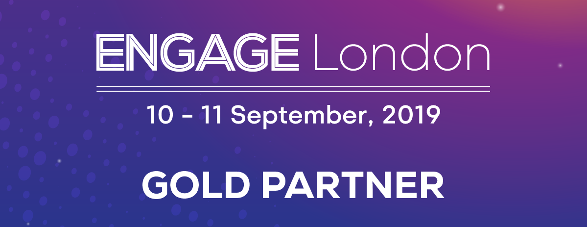 Engage London 2019 Gold Partner