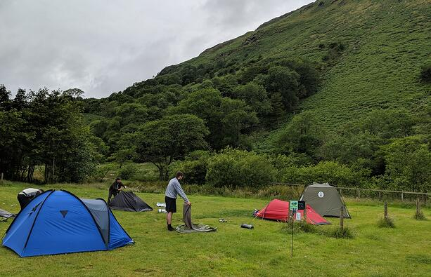DaXtra team at the campsite
