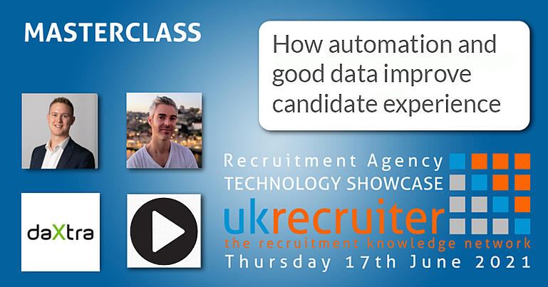 Event image for DaXtra's second session at the UK Recruiter Technology Showcase.