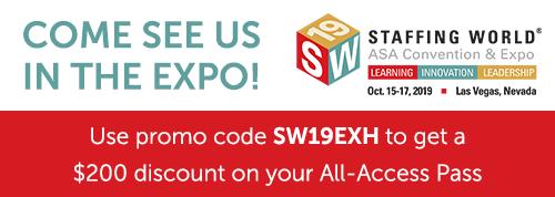 SW discount code exhibitor