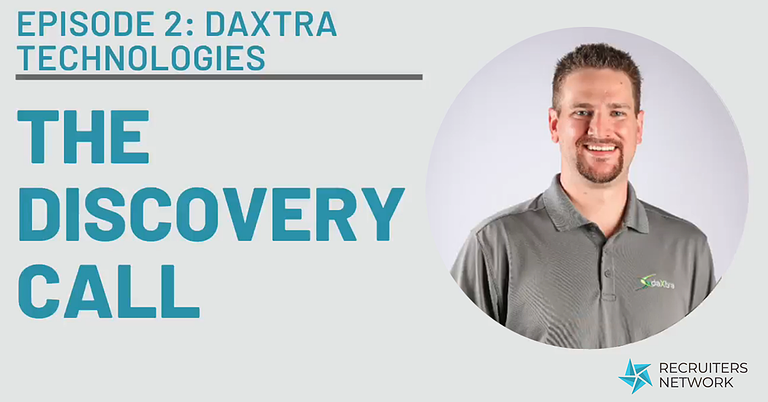 The Discovery Call with DaXtra Technologies Sales Director, Chris Wirt