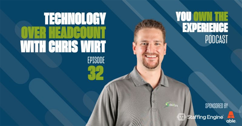Podcast Chris Wirt, You Own the Experience Podcast Art