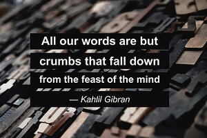 words_quote_kahlil_gibran