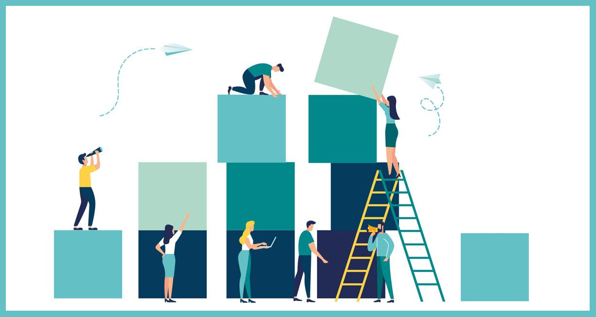 people building database blocks