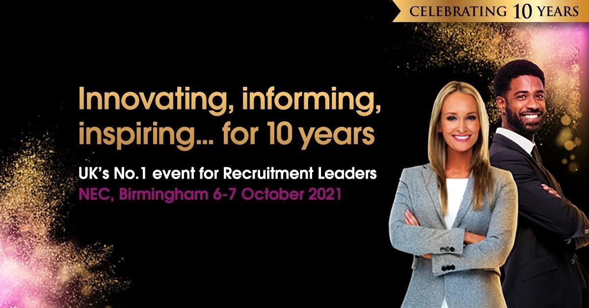 Recruitment Agency Expo Birmingham 2021 logo