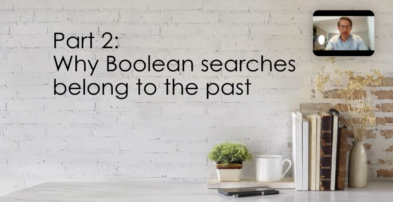 Boolean searches